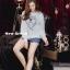 เสื้อผ้าเกาหลีพ้อมส่งเสื้อจั๊มเปอร์ลาย CC thumbnail 8