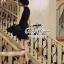 ( พร้อมส่งเสื้อผ้าเกาหลี) เดรสสีดำลุคเรียบหรู กิมมิคของชุดอยู่ที่ช่วงอกค่ะ ตกแต่งโบว์ เนื้อผ้าเรียบสวย thumbnail 16