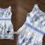 ชุดเดรสเกาหลีพร้อมส่ง Sweet Lace Bule Suquin Dress thumbnail 10
