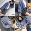 เสื้อผ้าเกาหลีพร้อมส่ง เสื้อคลุมไหมพรมแต่งกระดุมมุข thumbnail 12