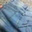 เสื้อผ้าเกาหลีพร้อมส่ง กางเกงยีนส์ แฟชั่น ขายาว ทรงเดป thumbnail 5