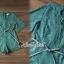 เสื้อผ้าเกาหลีพร้อมส่ง Whiffle Rim Lace Murky Color Playsuit thumbnail 7