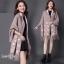 เสื้อคลุมสไตล์เกาหลี ผ้าwool 100% มี 3 สี thumbnail 6