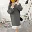 เสื้อผ้าเกาหลีพร้อมส่ง เสื้อไหมพรม แบบสวมคอเต่า thumbnail 5