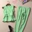 เสื้อผ้าเกาหลี พร้อมส่งเสื้อเนื้อผ้าดีมากๆใส่แมทซ์กับกาวเกงเอวสูง thumbnail 4