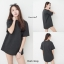 เสื้อผ้าเกาหลีพร้อมส่ง เสื้อยืดผ้าคอตต้อนเกรดพรีเมี่ยม thumbnail 6