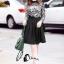 ชุดเดรสเกาหลีพร้อมส่ง All New Self P Floral LAce Luxury Dress thumbnail 7