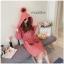 เสื้อผ้าแฟชั่นเกาหลีพร้อมส่ง เสื้อคลุมกันหนาวผ้าขนสั้นซับใน thumbnail 1