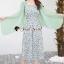 เสื้อผ้าเกาหลีพร้อมส่ง Vintage Style Suit High Green Classic thumbnail 2