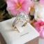 พร้อมส่ง Diamond Ring แหวนเพชรงานเพชร CZ แท้ thumbnail 2
