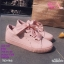 รองเท้าผ้าใบสไตล์เกาหลีสายริบบิ้น thumbnail 6