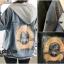 เสื้อผ้าเกาหลีพร้อมส่ง เสื้อ jacket jeans แต่งฮู๊ดด สกรีนลายด้านหลัง thumbnail 14