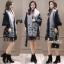 เสื้อคลุมสไตล์เกาหลี ผ้าwool 100% มี 3 สี thumbnail 12