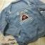 เสื้อผ้าเกาหลีพร้อมส่ง Jeans Jacket ฉลาม thumbnail 5