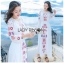 Fiona Easy Bohemian Style Embroidered Long Dress thumbnail 3