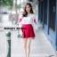 เสื้อผ้าเกาหลีพร้อมส่ง ขาวแดงงานดีก็มาคร้าาาาาา เหมือนเด็กญี่ปุ่นจริงงๆ thumbnail 12