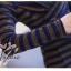 เสื้อผ้าเกาหลีพร้อมส่ง เสื้อวิ้งลายทางผ้าลูกฟูกลอนเล็กผสมสแปนเด็กซ์ thumbnail 5