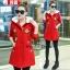 เสื้อผ้าเกาหลีพร้อมส่ง เสื้อคาดิแก้นแขนยารุ่นนี้น่ารักมาก thumbnail 3
