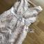 เสื้อผ้าเกาหลีพร้อมส่ง ค็อกเทลเดรสผ้าออร์แกนซ่าปักลายดอกไม้แบบ3D thumbnail 11