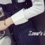 เสื้อผ้าเกาหลีพร้อมส่ง เซต 2 ชิ้น เอี๊ยม+กระโปรง thumbnail 8