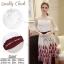 เสื้อผ้าเกาหลีพร้อมส่ง Wite & Red Unity Elegant Lady Beauty Set thumbnail 7