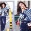 เสื้อผ้าเกาหลีพร้อมส่ง สเวตเตอร์ลายโมเดิล thumbnail 9