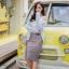 เสื้อผ้าเกาหลีพร้อมส่ง งานกระโปรงเลื่อมวิ้งว๊าง thumbnail 1