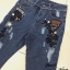 เสื้อผ้าเกาหลีพร้อมส่ง กางเกงยีนส์ ขายาว ทรง BOY thumbnail 2