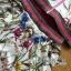 เสื้อผ้าเกาหลี พร้อมส่งเซ็ตแจ๊กเก็ตและกางเกงขาสั้นพิมพ์ลายดอกไม้ thumbnail 14