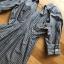 เสื้อผ้าเกาหลีพร้อมส่ง มินิเชิ้ตเดรสผ้าลายทาง thumbnail 11