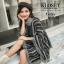 เสื้อผ้าแฟชั่นเกาหลีพร้อมส่ง เสื้อไหมพรมงาน Knit สวยมากๆเลยคะ thumbnail 2