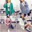 เสื้อผ้าเกาหลีพร้อมส่ง เสื้อไหมพรม แบบคลุม ถักแบบเปีย thumbnail 1