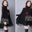 เสื้อผ้าแฟชั่นพร้อมส่ง Winter Style with Great-Looking Cuties Dress thumbnail 4
