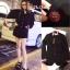 เสื้อผ้าเกาหลีพร้อมส่ง Blazers Gucci งานสวยแป๊ะกระดุมเป็นตัวผึ้ง thumbnail 6