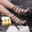 รองเท้าส้นสูง วัสดุหนังแววเงานิ่มสวย thumbnail 5