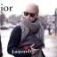 เสื้อผ้าเกาหลีพร้อมส่ง ผ้าพันคอปัก Dior ตัวป้าย แท็ก ทั้งหมดเป็น Dior thumbnail 13