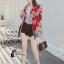 เสื้อผ้าแฟชั่นเกาหลีพร้อมส่ง เสื้อเบรเซอร์ แขนยาวแต่งคอปกมี 3 สี thumbnail 3