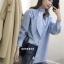 เสื้อผ้าเกาหลีพร้อมส่ง มินิเดรสจะแมท์กับขาสั้นหรือใส่เป็นเสื้อก็ได้ค่ะ thumbnail 1