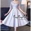 Luxurious Silver Embroidered Fashion Korea thumbnail 1