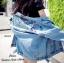 เสื้อผ้าเกาหลีพร้อมส่ง เสื้อแจ๊คเก็ตยีนส์ด้านหลังปักลวยลาย สีสัน สดใส thumbnail 3
