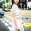 ชุดเดรสเกาหลีพร้อมส่ง เดรสผ้าลูกไม้สีขาวสไตล์แบรนด์ Self-Portrait thumbnail 7