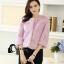 เสื้อผ้าเกาหลีพร้อมส่ง เสื้อคลุมดีเทลตกแต่งขนมิ้งทั้งตัว thumbnail 11