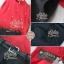 เสื้อผ้าเกาหลี พร้อมส่งเซ็ตเสื้อ+กางเกง ตัวเสื้อแขนกุดสีแดงมาพร้อมกับกางเกงขายาวสีดำเอวสูง thumbnail 6