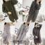 เสื้อผ้าเกาหลีพร้อมส่ง งานชุดเซ็ต 3 ชิ้นเดรสไหมพรม+เสื้อคลุม+และเข็มขัด thumbnail 4