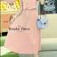 ชุดเดรสเกาหลี พร้อมส่ง เดรสสไตล์สาวหวาน เรียบ หรู เนื้อผ้าชีฟองคุณภาพดี thumbnail 5