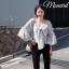 เสื้อผ้าเกาหลีพร้อมส่ง เสื้อสไตล์สาวโคเรีย thumbnail 1