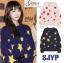 เสื้อผ้าเกาหลีพร้อมส่ง เสื้อหนาวรูปดาว ไหมพรม thumbnail 3