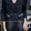 เสื้อผ้าแฟชั่นเกาหลีพร้อมส่ง เสื้อโค้ชแจคเก็ตแขนยาว ดีสวยมาก thumbnail 9