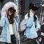 เสื้อผ้าเกาหลีพร้อมส่ง Winter Ultra Warm Jacket thumbnail 4