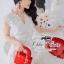 ( พร้อมส่งเสื้อผ้าเกาหลี) เดรสลูกไม้สีขาว ใช้ผ้าลูกไม้เยอะค่ะ ลายสวยลวดลาย3D คอVใส่สวยทุกรูปร่าง มีซับในในตัวนะคะ ผ้าลูกไม้เนื้อดีหนามีน้ำหนัก thumbnail 4
